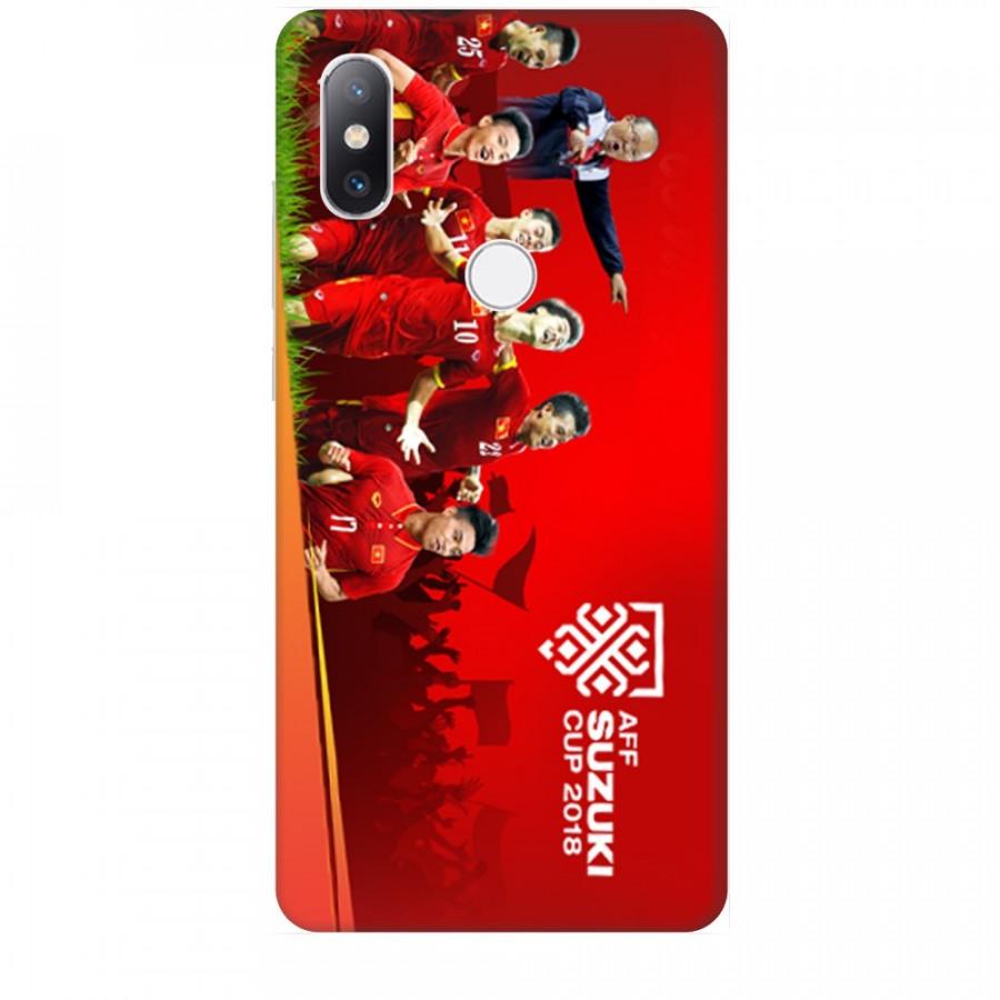 Ốp Lưng Dành Cho Xiaomi Mi Mix 2S AFF Cup - Đội Tuyển Việt Nam Mẫu 1