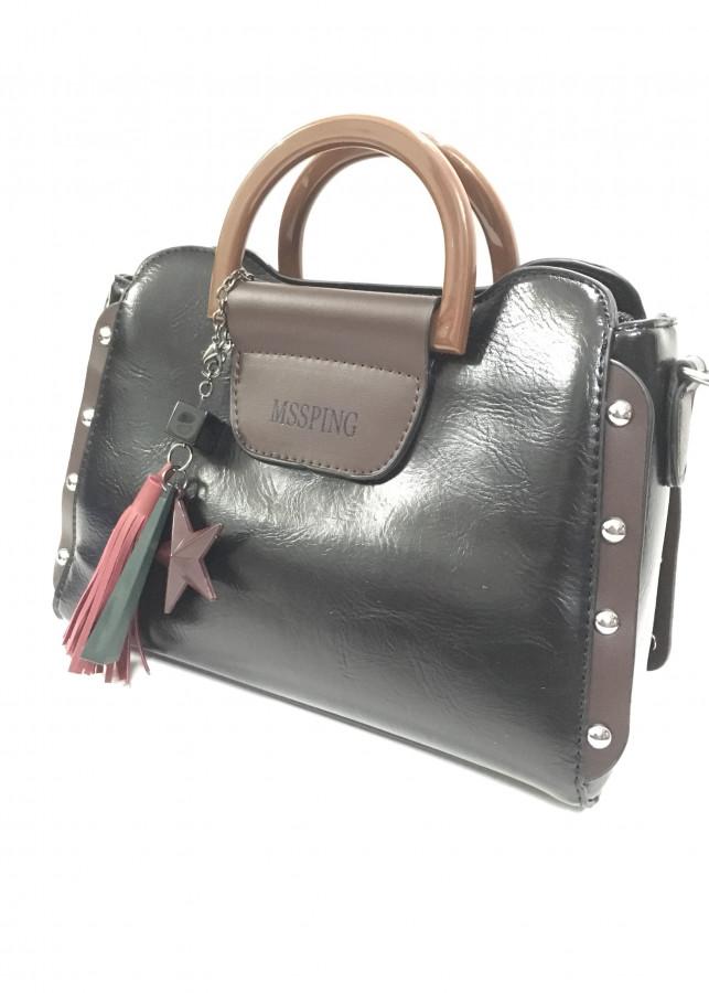 Túi đeo vai viền đinh tán cá tính,thời trang
