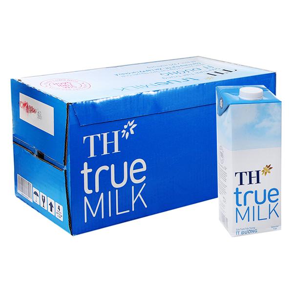 Thùng Sữa Tươi Tiệt Trùng Ít Đường TH True Milk (1L x 12 hộp) - 9558496 , 6166079515143 , 62_14939436 , 396000 , Thung-Sua-Tuoi-Tiet-Trung-It-Duong-TH-True-Milk-1L-x-12-hop-62_14939436 , tiki.vn , Thùng Sữa Tươi Tiệt Trùng Ít Đường TH True Milk (1L x 12 hộp)