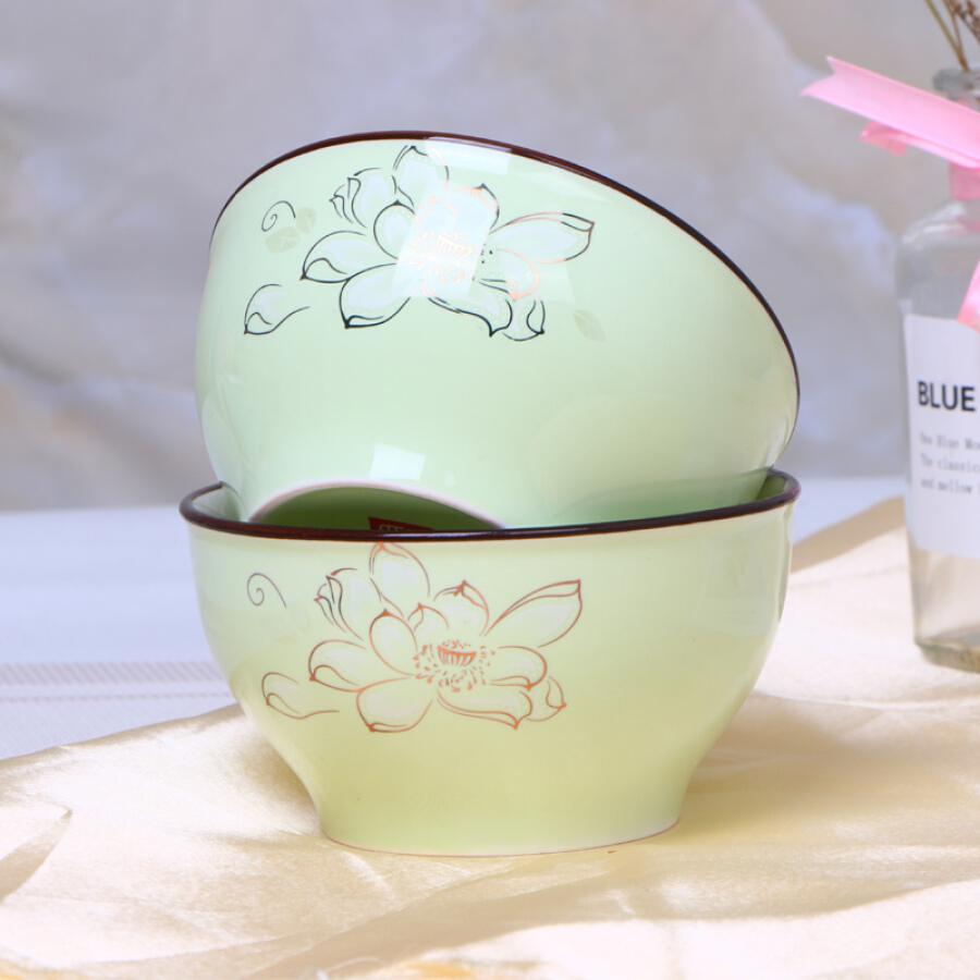 Bộ 2 Tô Gốm Ceramic 6inch Nhật Bản Min Yang