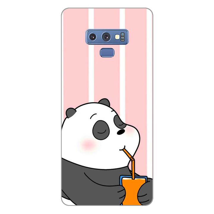 Ốp lưng dẻo Nettacase cho điện thoại Samsung Galaxy Note 9_0399 PANDA06 - Hàng Chính Hãng