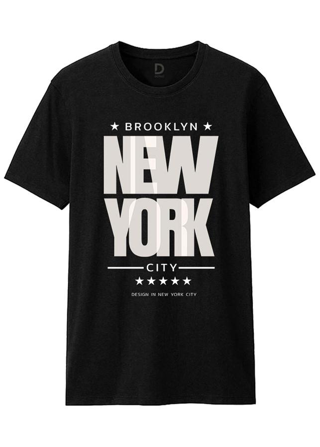 Áo Thun T-shirt Unisex Dotilo New York HM052A - Đen - 1350668 , 9216477884185 , 62_8130198 , 320000 , Ao-Thun-T-shirt-Unisex-Dotilo-New-York-HM052A-Den-62_8130198 , tiki.vn , Áo Thun T-shirt Unisex Dotilo New York HM052A - Đen