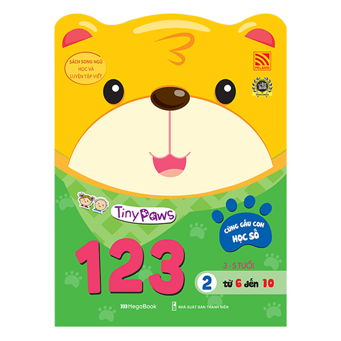 Tiny Paws - Cùng Gấu Con Học Số 123 - Từ 6 Đến 10