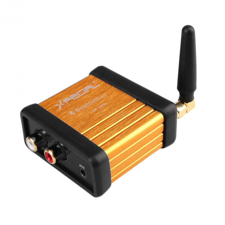 Bluetooth 4.2 HiFi Car Stereo Audio Receiver Amplifier Amp DC5V Support APTX - 1771188 , 8061551190222 , 62_12576311 , 887000 , Bluetooth-4.2-HiFi-Car-Stereo-Audio-Receiver-Amplifier-Amp-DC5V-Support-APTX-62_12576311 , tiki.vn , Bluetooth 4.2 HiFi Car Stereo Audio Receiver Amplifier Amp DC5V Support APTX