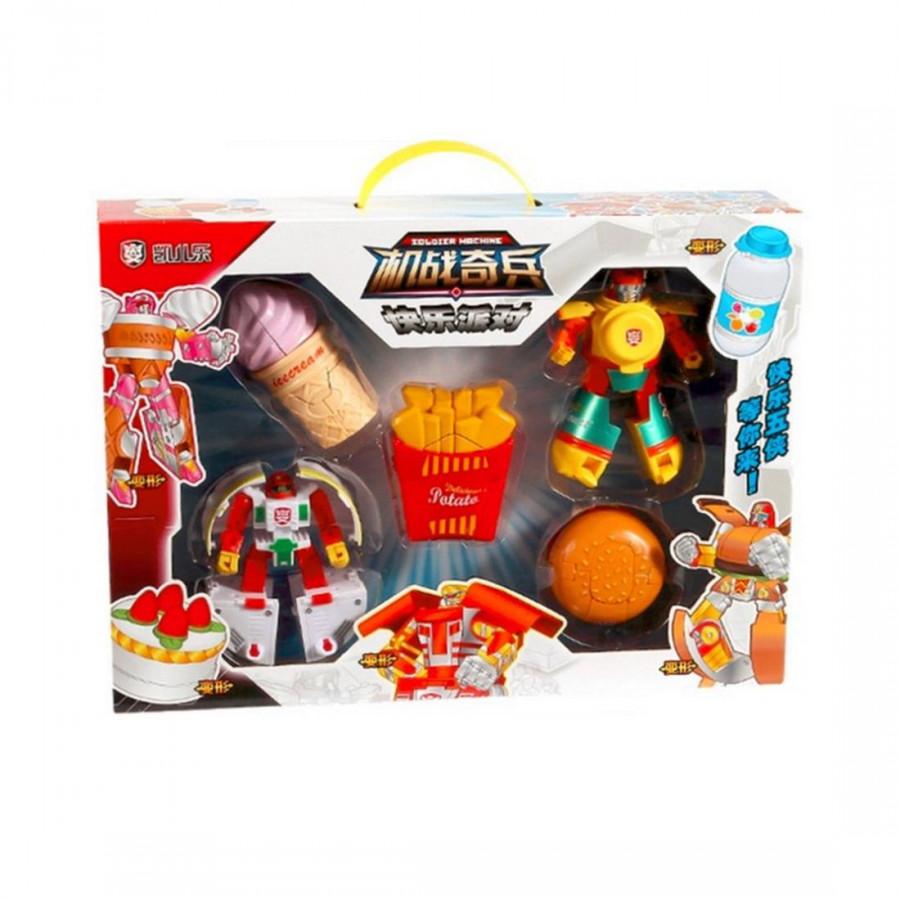 Bộ Quà Tặng Đồ Chơi Robot Transformers Cho Trẻ Em