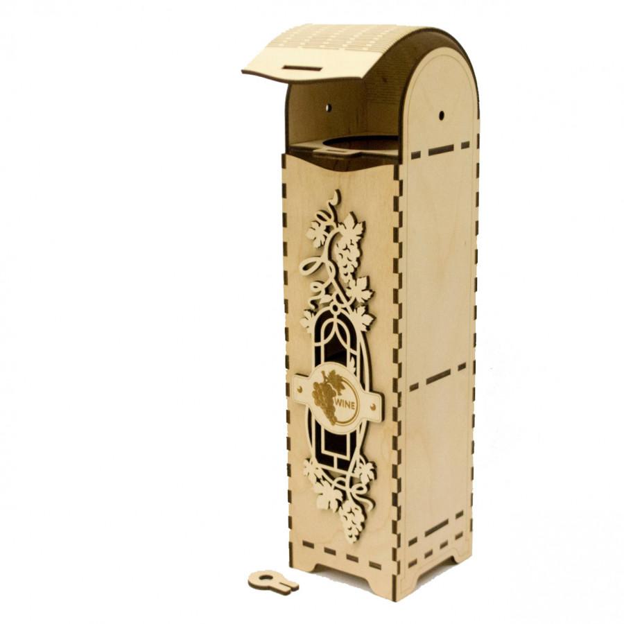 Hộp rượu trang trí chất liệu HDF - 1272767 , 6797022123285 , 62_10863661 , 280000 , Hop-ruou-trang-tri-chat-lieu-HDF-62_10863661 , tiki.vn , Hộp rượu trang trí chất liệu HDF