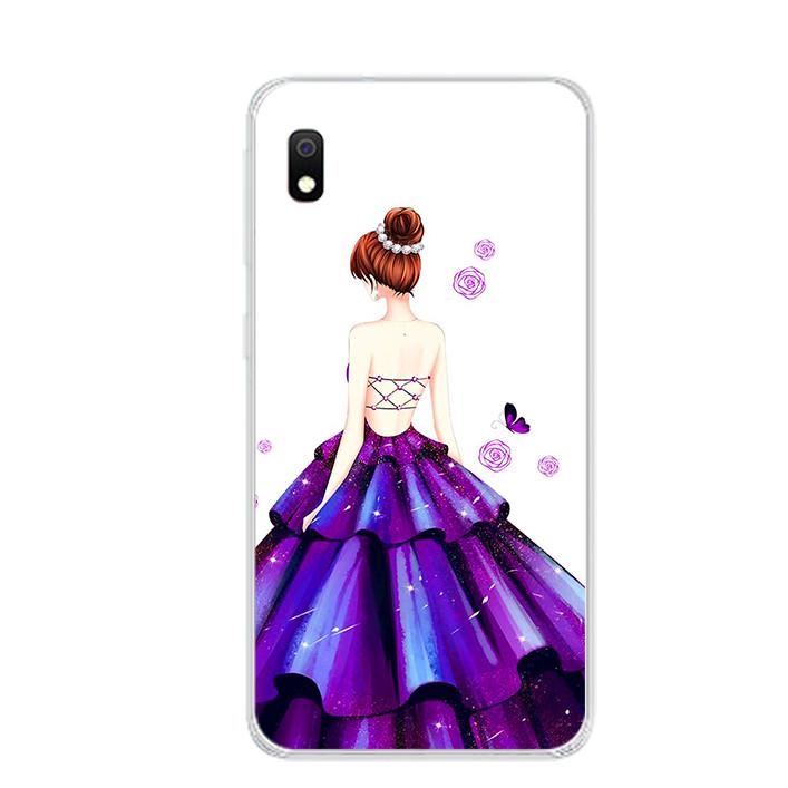Ốp lưng dẻo cho điện thoại Samsung Galaxy A10 - 0100 GIRL06 - Hàng Chính Hãng