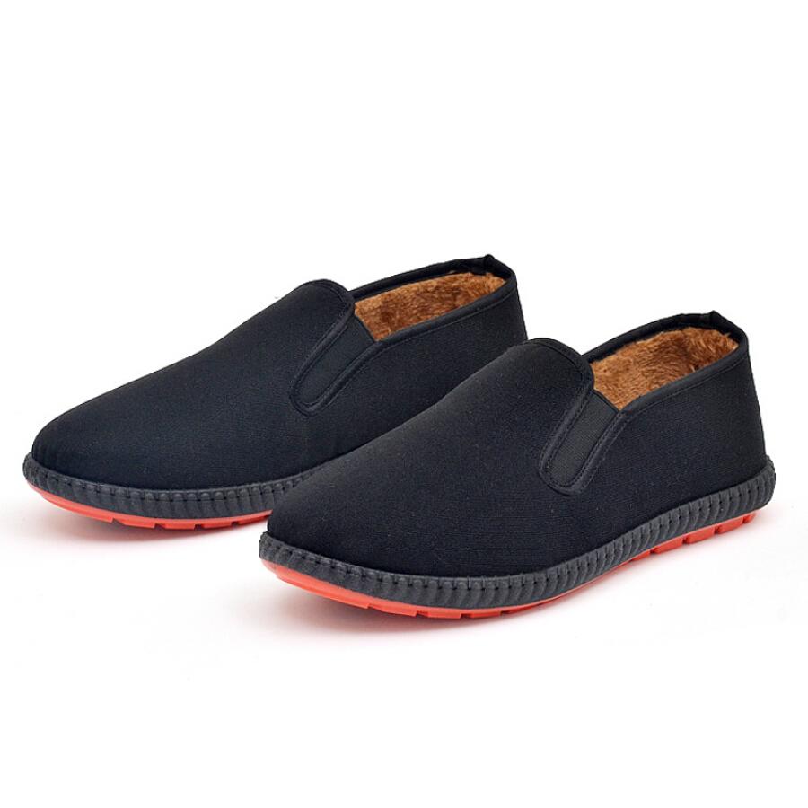 Giày Mọi Vải Nam Victorian