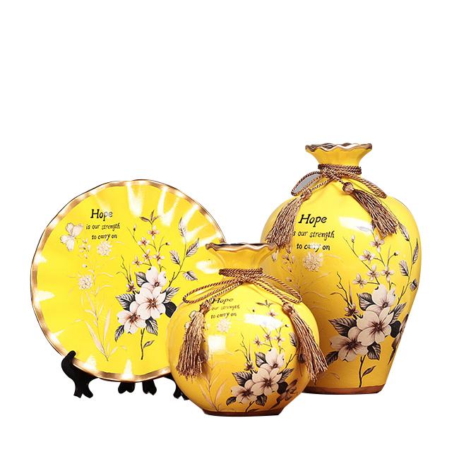Bộ lục bình tranh đĩa hoa anh đào 25cm - 2251555 , 7099386697273 , 62_14463897 , 816000 , Bo-luc-binh-tranh-dia-hoa-anh-dao-25cm-62_14463897 , tiki.vn , Bộ lục bình tranh đĩa hoa anh đào 25cm