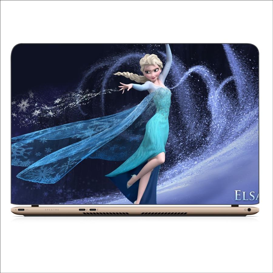 Miếng Dán Skin In Decal Dành Cho Laptop - Công Chúa Elsa 3 - Mã: 101118