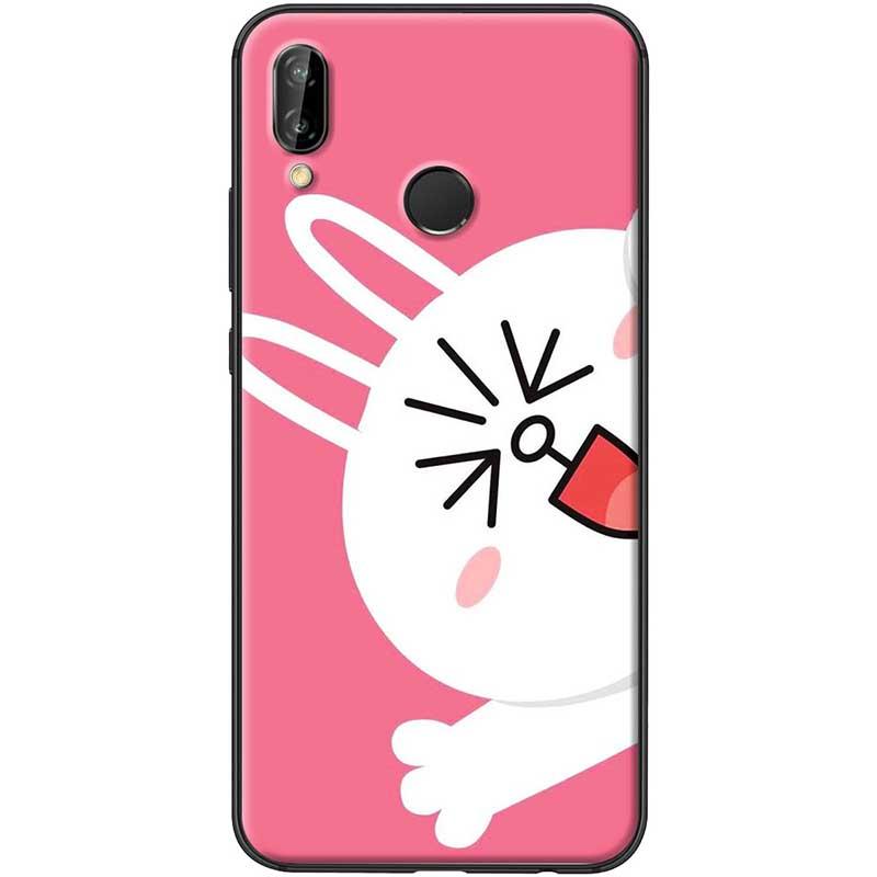 Ốp lưng dành cho  Huawei Nova 3i  mẫu Thỏ nền hồng