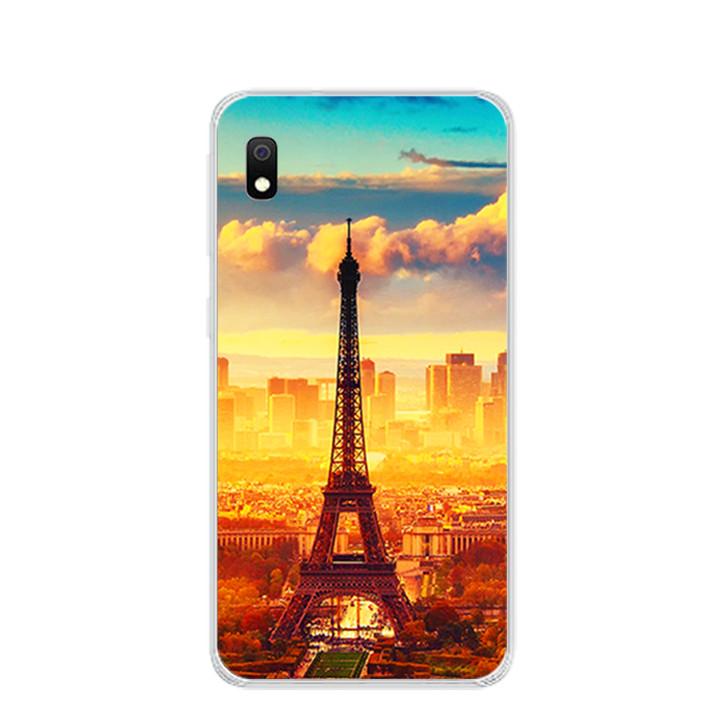 Ốp lưng dẻo cho điện thoại Samsung Galaxy A10 - 0299 PARIS01 - Hàng Chính Hãng