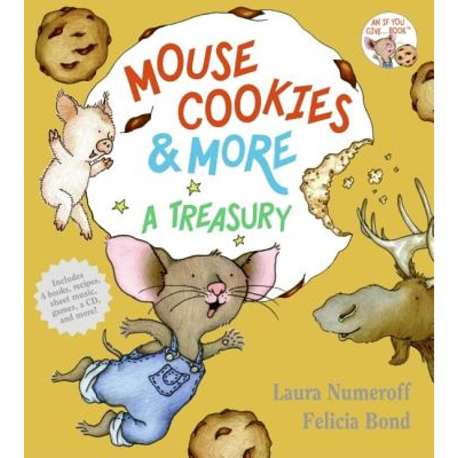 Mouse Cookies  More: A Treasury With CD (Audio) - 1239265 , 5991598054597 , 62_5277727 , 532000 , Mouse-Cookies-More-A-Treasury-With-CD-Audio-62_5277727 , tiki.vn , Mouse Cookies  More: A Treasury With CD (Audio)