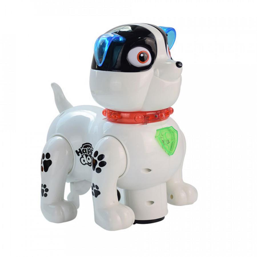 Imitation Dog Toy Intelligent Doy Lovely Plastic Sound Walk - Chromatic