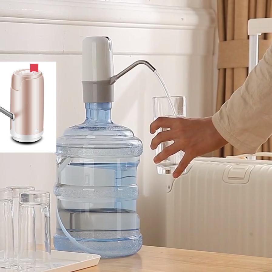Bơm uống nước tự động bình to- Bơm hút nước bình nước - Bơm nước mini có sạc - Bơm nước uống bình nước to...