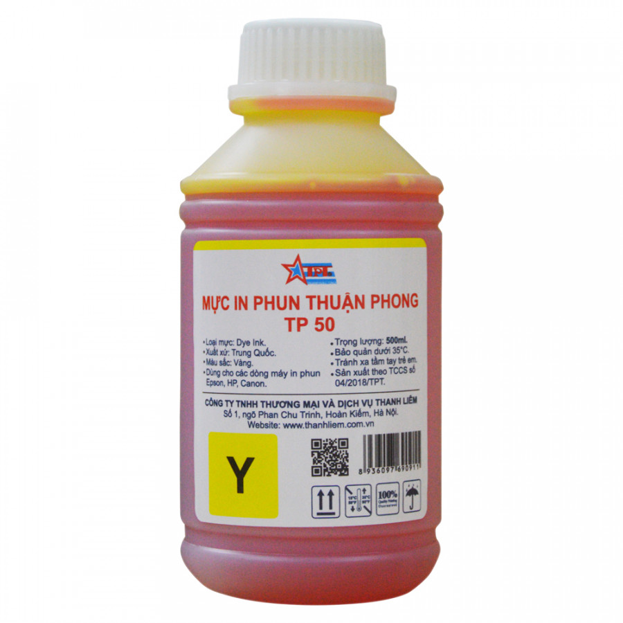 Mực in phun Thuận Phong TP50 (500ml) dùng cho tất cả các dòng máy in phun Epson, HP, Canon - 9573985 , 9239222791262 , 62_12221582 , 250000 , Muc-in-phun-Thuan-Phong-TP50-500ml-dung-cho-tat-ca-cac-dong-may-in-phun-Epson-HP-Canon-62_12221582 , tiki.vn , Mực in phun Thuận Phong TP50 (500ml) dùng cho tất cả các dòng máy in phun Epson, HP, Canon