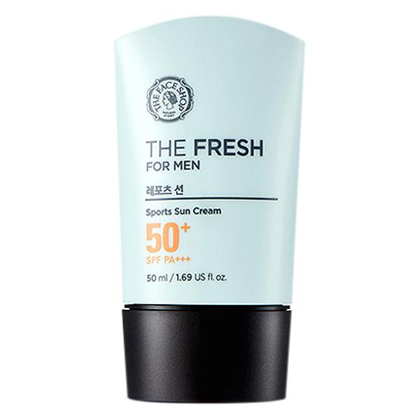 Kem Chống Nắng The Face Shop The Fresh For Men Sports Sun Cream SPF50 PA+++ 31610018 (50ml) - 891475 , 5580390659057 , 62_1581363 , 449000 , Kem-Chong-Nang-The-Face-Shop-The-Fresh-For-Men-Sports-Sun-Cream-SPF50-PA-31610018-50ml-62_1581363 , tiki.vn , Kem Chống Nắng The Face Shop The Fresh For Men Sports Sun Cream SPF50 PA+++ 31610018 (50ml)