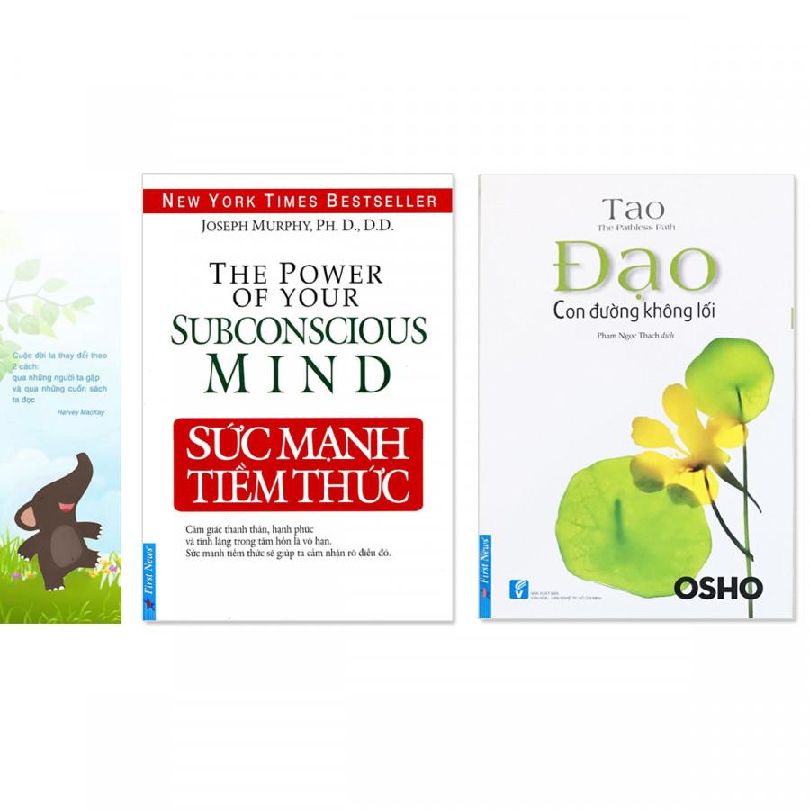 Combo 2 quyển: Sức Mạnh Tiềm Thức + Đạo - Con Đường Không Lối (Tặng kèm bookmark danh ngôn hình voi) - 1261516 , 2476431018194 , 62_8277501 , 184000 , Combo-2-quyen-Suc-Manh-Tiem-Thuc-Dao-Con-Duong-Khong-Loi-Tang-kem-bookmark-danh-ngon-hinh-voi-62_8277501 , tiki.vn , Combo 2 quyển: Sức Mạnh Tiềm Thức + Đạo - Con Đường Không Lối (Tặng kèm bookmark danh ngôn