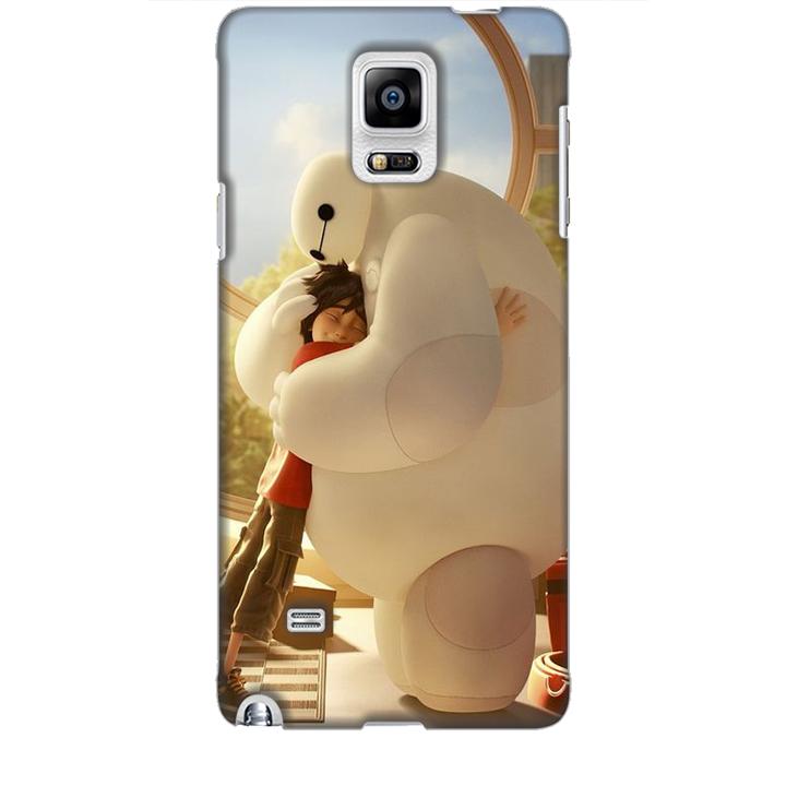 Ốp lưng dành cho điện thoại  SAMSUNG GALAXY NOTE 4 hình Big Hero Mẫu 03