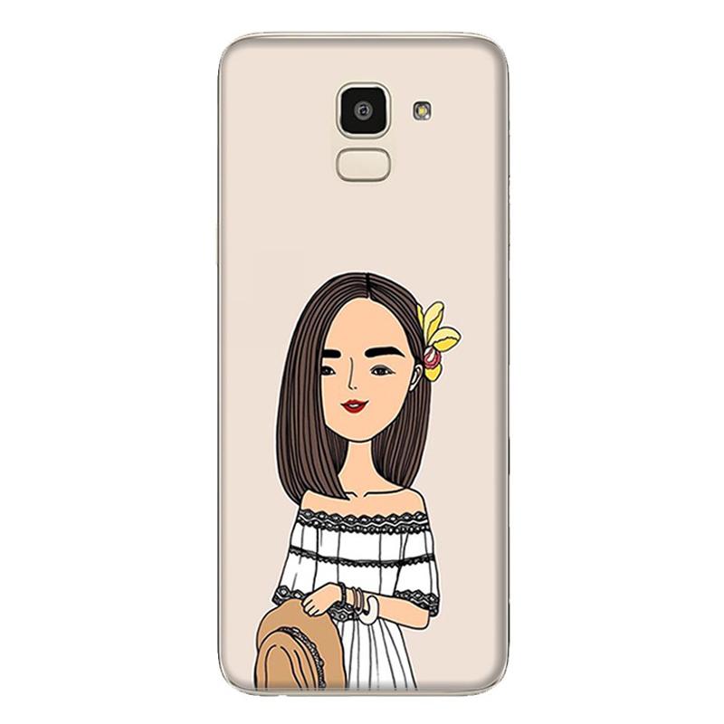 Ốp Lưng Dành Cho Samsung Galaxy J6 - Mẫu 90