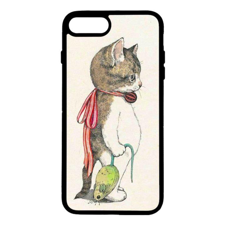 Ốp lưng dành cho điện thoại Iphone 7 Plus Mèo Và Chuột