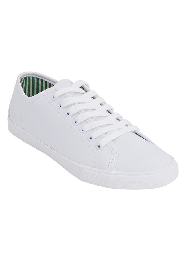 Giày Vải Nữ MIDO'S 79-MD16-WHITE PU - Trắng