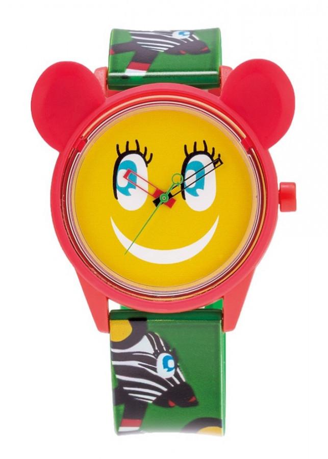 Đồng hồ Unisex QQ Smile Solar RP02J805Y Limited- Xanh lá họa tiết