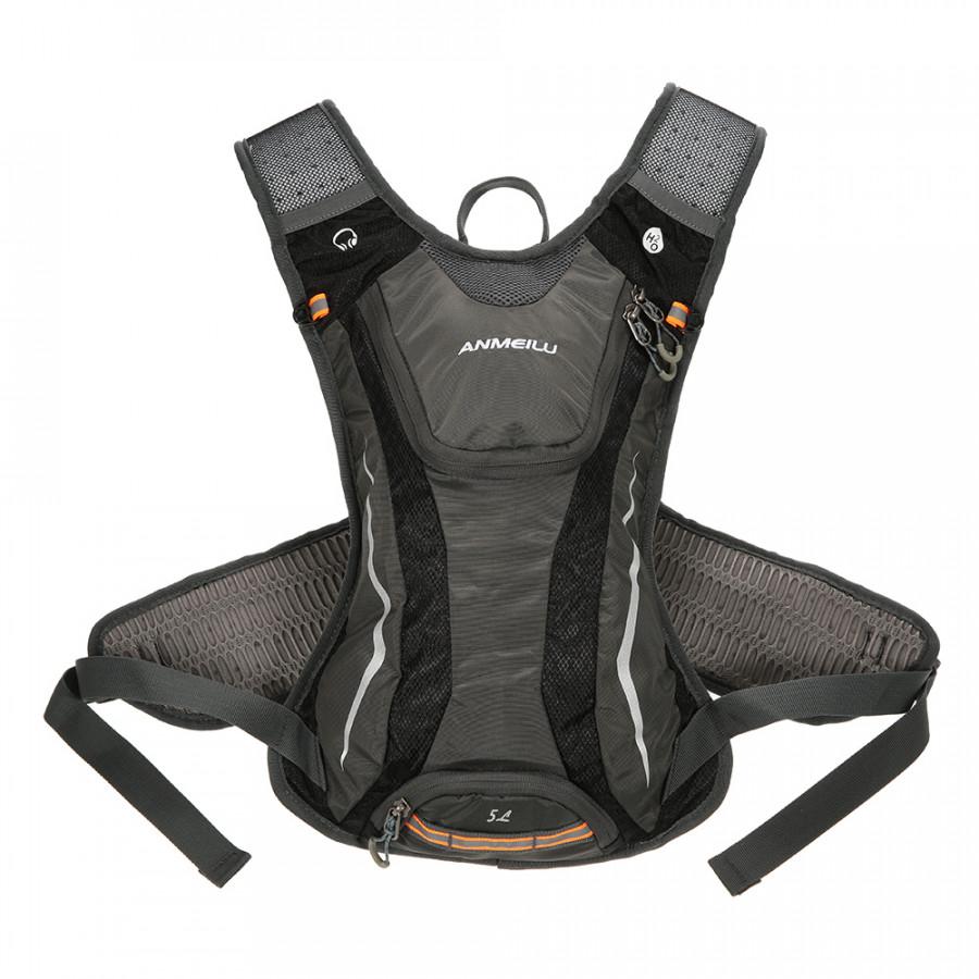 5L Sturdy Water Resistant Outdoor Backpack Cycling Backpack Bag Biking Hiking Bag Shoulder Bag Backpack Daypack - Grey - 1466999 , 6636944042277 , 62_14332657 , 611000 , 5L-Sturdy-Water-Resistant-Outdoor-Backpack-Cycling-Backpack-Bag-Biking-Hiking-Bag-Shoulder-Bag-Backpack-Daypack-Grey-62_14332657 , tiki.vn , 5L Sturdy Water Resistant Outdoor Backpack Cycling Backpack