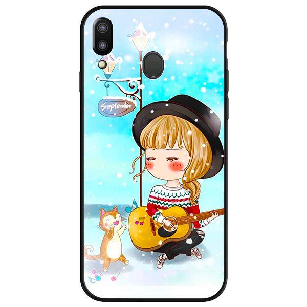 Ốp lưng dành cho điện thoại Samsung Galaxy M20 - Anime Cô Gái Cầm Đàn
