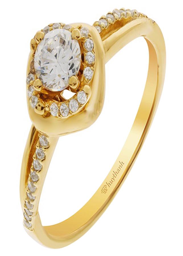 Nhẫn Nữ Huy Thanh Jewelry NDINO01 - Size 8 (15.3mm)