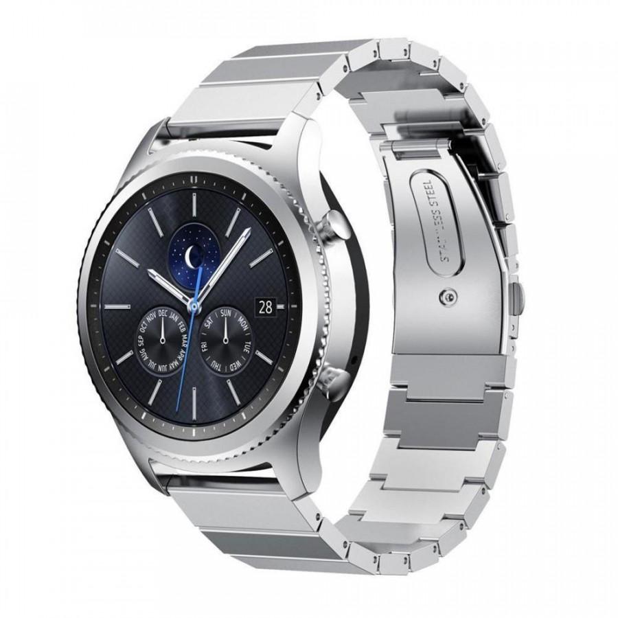 Dây Thép Cánh Bướm Bạc Cho Galaxy Watch (Size 22mm) - 748515 , 1570891591141 , 62_6707323 , 550000 , Day-Thep-Canh-Buom-Bac-Cho-Galaxy-Watch-Size-22mm-62_6707323 , tiki.vn , Dây Thép Cánh Bướm Bạc Cho Galaxy Watch (Size 22mm)