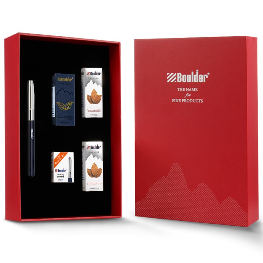 Boulder Platinum X1 Electronic Cigarette Set Platinum Original Electronic Nebulizer Smoke Oil Steam Cigarette Mini Portable Gift Box - 4774810 , 6295496830604 , 62_10484279 , 988000 , Boulder-Platinum-X1-Electronic-Cigarette-Set-Platinum-Original-Electronic-Nebulizer-Smoke-Oil-Steam-Cigarette-Mini-Portable-Gift-Box-62_10484279 , tiki.vn , Boulder Platinum X1 Electronic Cigarette Set