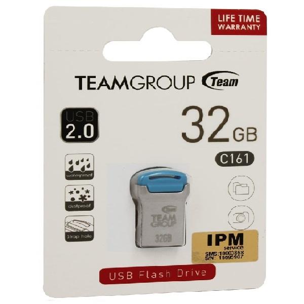 USB Team Group PENDRIVE 32GB USB 2.0 C161 Xanh