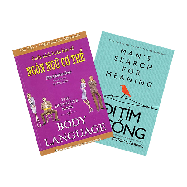 Combo Cuốn Sách Hoàn Hảo Về Ngôn Ngữ Cơ Thể - Body Language + Đi Tìm Lẽ Sống - Tái Bản (2 cuốn)