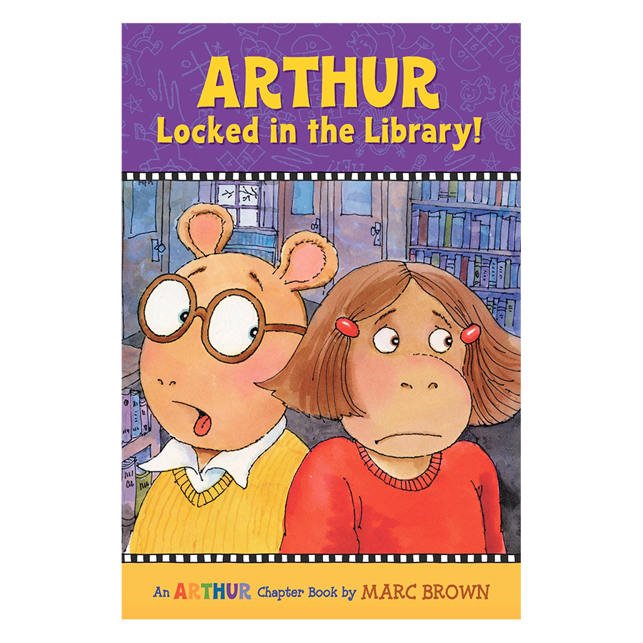Arthur Locked in the Library!: An Arthur Chapter Book (Arthur Chapter Books)