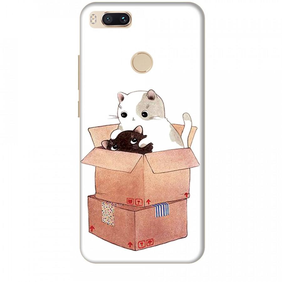 Ốp lưng dành cho điện thoại XIAOMI MI A1 Mèo Con Dễ Thương