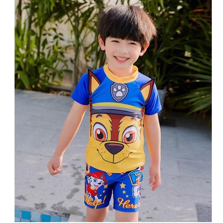 Bộ bơi bé trai có nón bơi - 9750982 , 5747640338043 , 62_16434957 , 300000 , Bo-boi-be-trai-co-non-boi-62_16434957 , tiki.vn , Bộ bơi bé trai có nón bơi