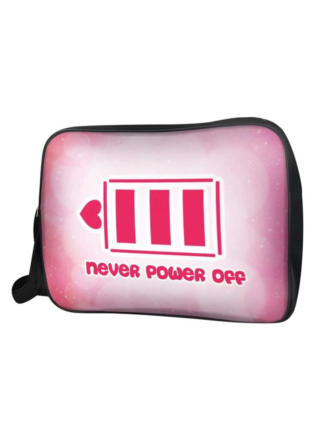 Túi Đeo Chéo Unisex Hộp Never Power Off TCCP054