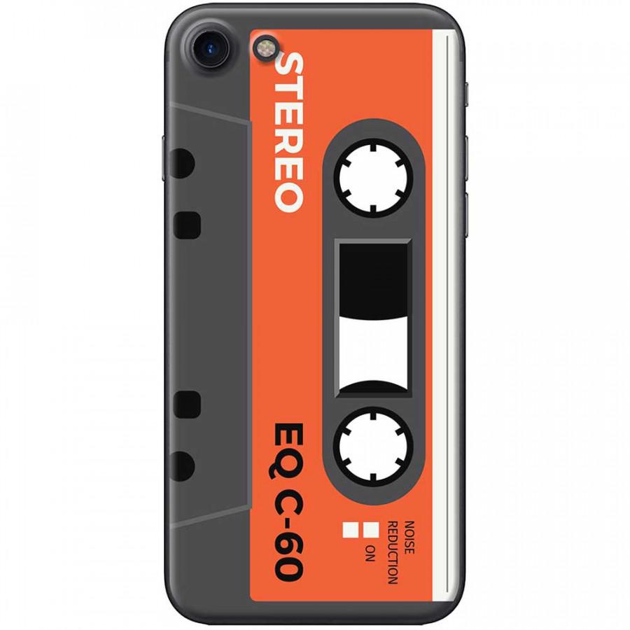 Ốp lưng dành cho iPhone 7 mẫu Cassette xám cam