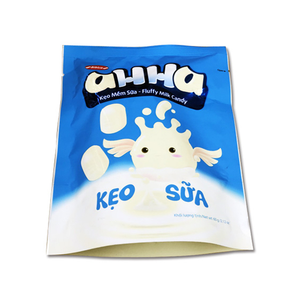 Kẹo Mềm Sữa Ahha Bibica (60g)