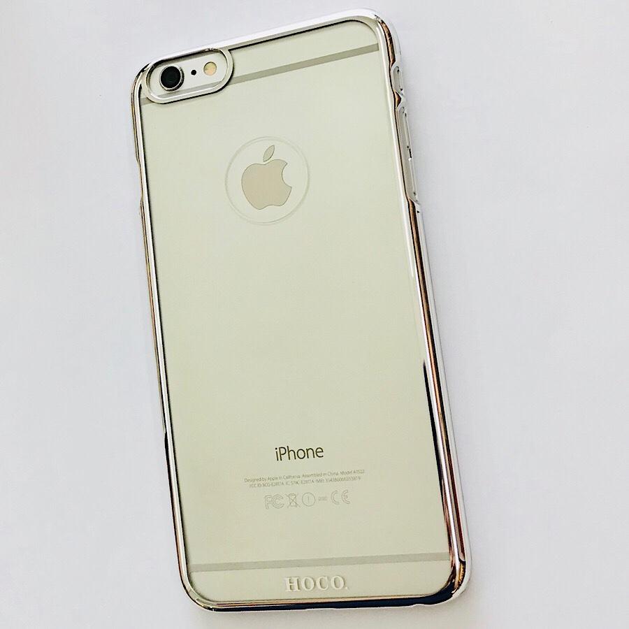 Ốp lưng iPhone 6 Plus / 6s Plus hiệu HOCO 0.3 Pc viền màu