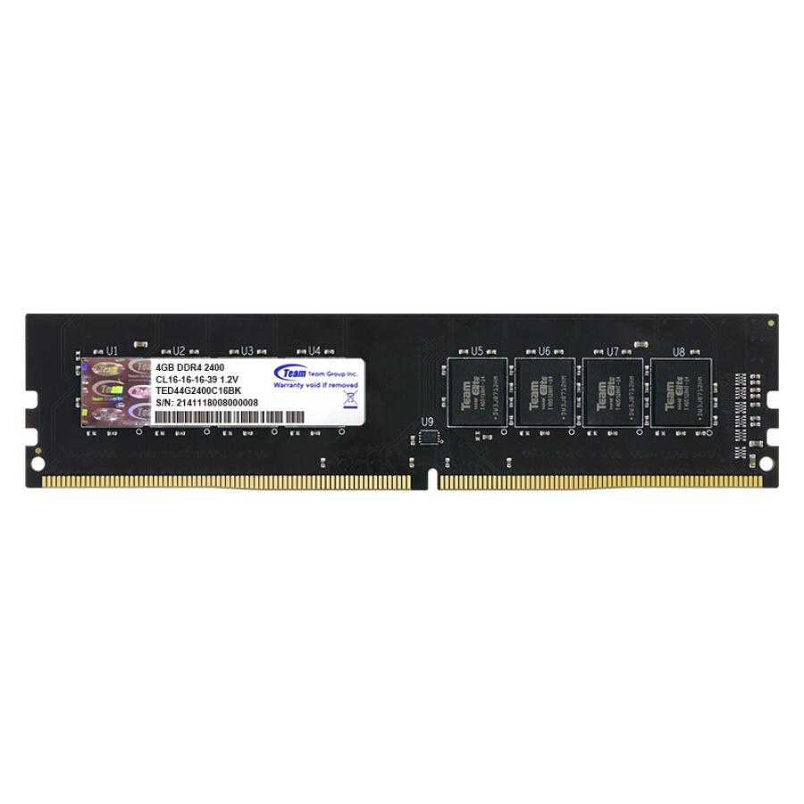 Bộ Nhớ RAM Máy Tính TEAM DDR4 2400 (4GB) - 1336695 , 6436788458681 , 62_5595421 , 830000 , Bo-Nho-RAM-May-Tinh-TEAM-DDR4-2400-4GB-62_5595421 , tiki.vn , Bộ Nhớ RAM Máy Tính TEAM DDR4 2400 (4GB)