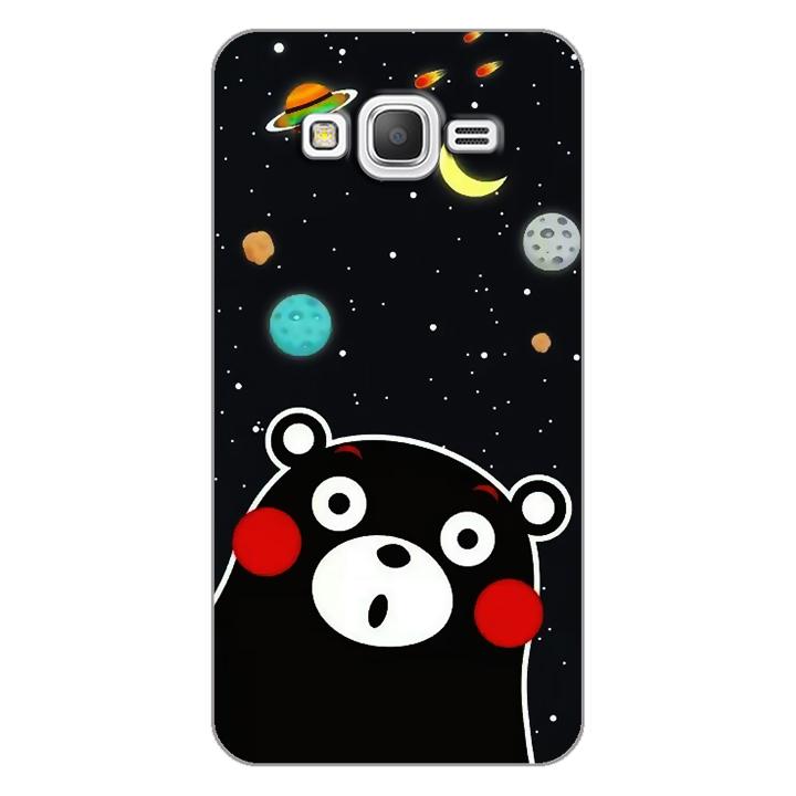 Ốp lưng dẻo Nettacase cho điện thoại Samsung Galaxy Grand Prime _0345 BEAR03 - Hàng Chính Hãng