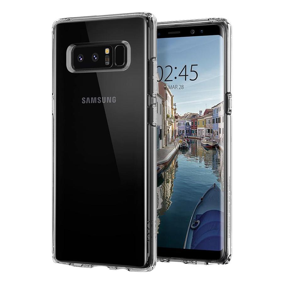 Ốp Lưng Spigen Liquid Crystal Cho Samsung Galaxy Note 8 - Hàng Chính Hãng