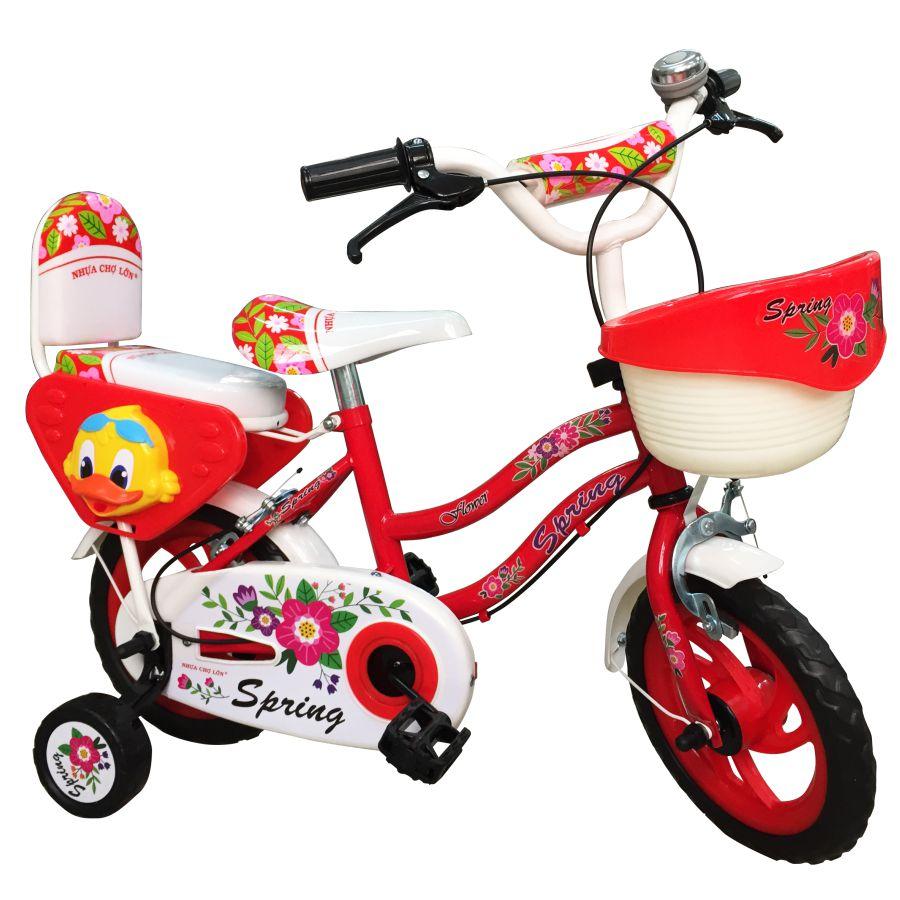 Xe đạp Nhựa Chợ Lớn 12 inch K99 - M1742-X2B - Giao màu ngẫu nhiên
