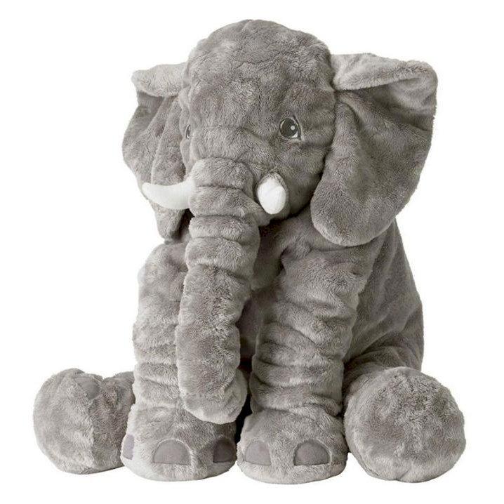 Gối ôm, thú bông hình voi cho bé - 1184605 , 7200468306581 , 62_10585237 , 400000 , Goi-om-thu-bong-hinh-voi-cho-be-62_10585237 , tiki.vn , Gối ôm, thú bông hình voi cho bé