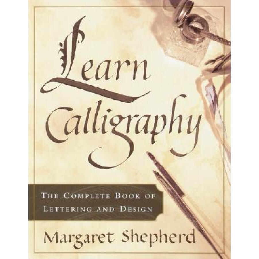 Learn Calligraphy: The Complete Book of Lettering and Design - 1237148 , 7726394036526 , 62_5269741 , 377000 , Learn-Calligraphy-The-Complete-Book-of-Lettering-and-Design-62_5269741 , tiki.vn , Learn Calligraphy: The Complete Book of Lettering and Design