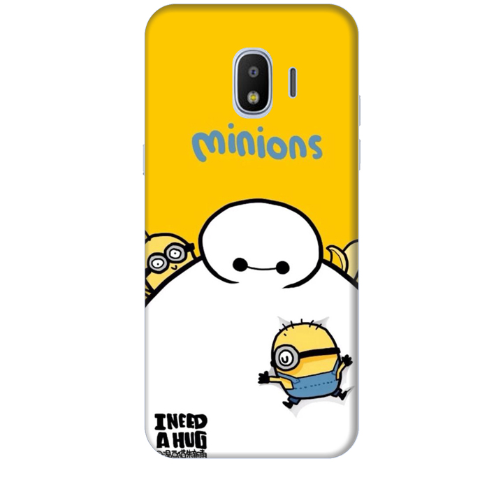 Ốp lưng dành cho điện thoại  SAMSUNG GALAXY J2 PRO hinh Big Hero Minions
