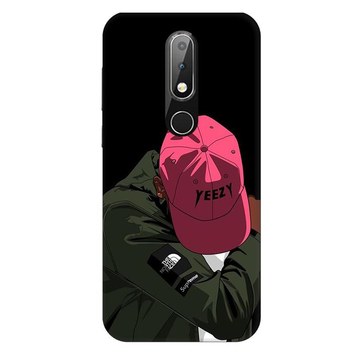 Ốp lưng nhựa cứng nhám dành cho Nokia X6 in hình Chỉ Thế Thôi