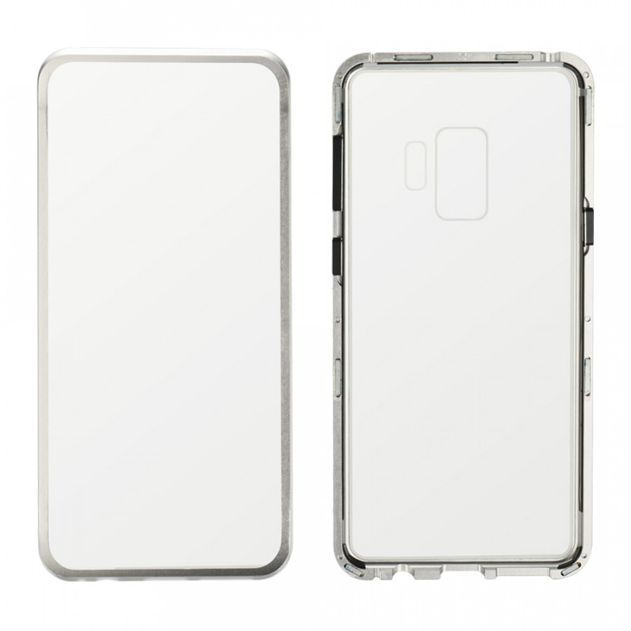 Metal-rimmed Mobile Phone Case Hardened Glass Magnetic Adsorption Protection Smartphone Cover Bumper Luxury Aluminum - 1963677 , 9794864006018 , 62_14703189 , 311000 , Metal-rimmed-Mobile-Phone-Case-Hardened-Glass-Magnetic-Adsorption-Protection-Smartphone-Cover-Bumper-Luxury-Aluminum-62_14703189 , tiki.vn , Metal-rimmed Mobile Phone Case Hardened Glass Magnetic Adsorption